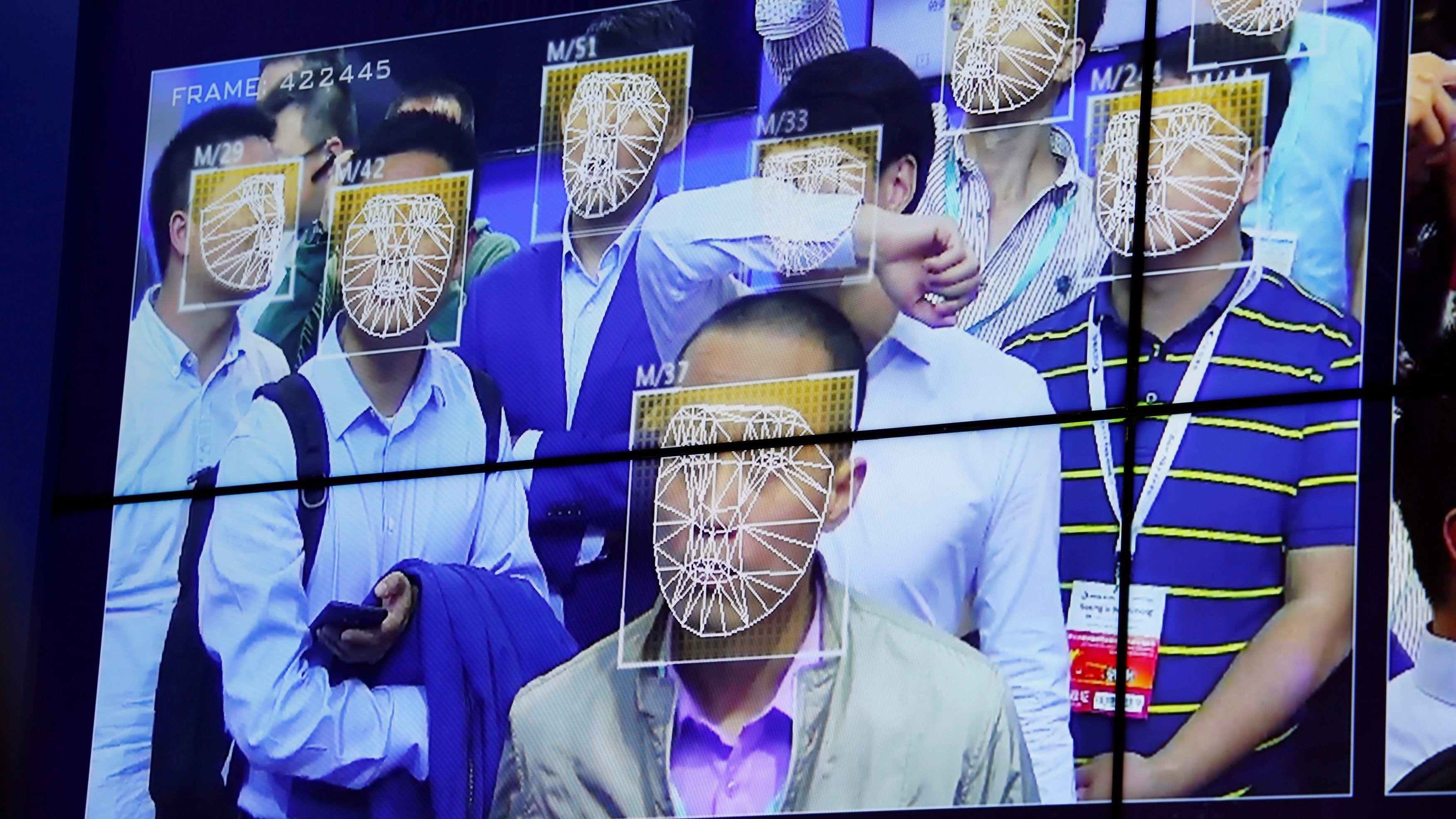 Facial Recognition Technology via quartz.com