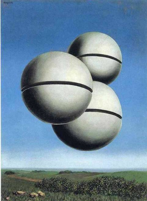 The Voice of Space - René Magritte