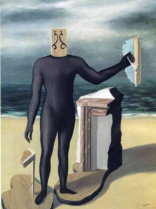 The Man of the Sea - René Magritte